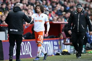Nya Kirby was replaced by Nathan Delfouneso after 72 minutes