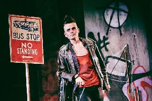 Tom Milner as Johnny in American Idiot