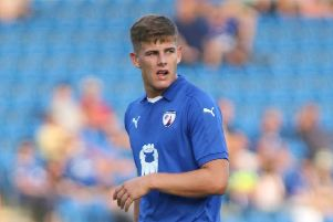 Chesterfield's Charlie Carter