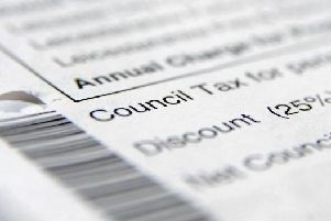 Council tax is set to rise by nearly four per cent.