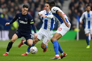 Leeds United want Derby's loan man Harry Wilson.  (Photo by Mike Hewitt/Getty Images)