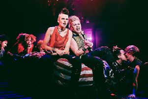 Tom Milner as Johnny and Luke Friend as St Jimmy in Green Day's American Idiot