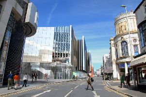 Artist's impression of phase two of the Houndshill Centre
