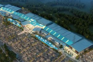 An image of how the new development will look.