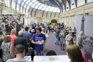 A consultation day for the Blackpool Museum project