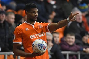 Michael Nottingham scored his fourth goal of the season against Doncaster