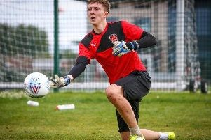 Fleetwood Town youngster Billy Crellin