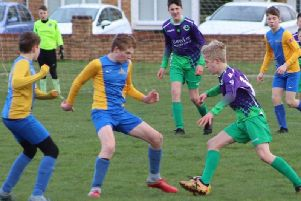 St Annes Yellows defeated Warton Typhoons 2-1 Picture: KAREN TEBBUTT