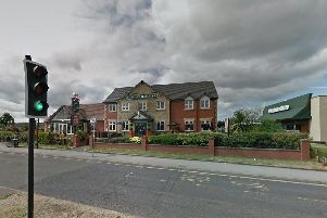 Handsworth Road, outside The Sword Dancer pub, where the woman was blown over in the strong winds (pic: Google)