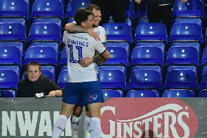 Tranmere striker James Norwood is wanted by Championship strugglers Ipswich Town