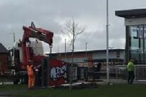 Colonel no more after KFC takes down its 10m tall advertising totem in Buckshaw Village