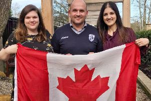 Featherstone Rovers chief executive David Longo launches a new Canadian partnership.