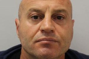 Mane Driza, who has been found guilty at the Old Bailey of his fifth murder in Britain.