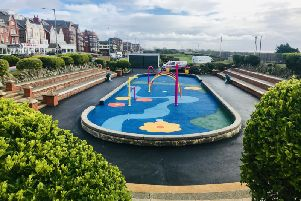 The Splash! water park on St Annses Promenade, to be opened on April 3, 2019