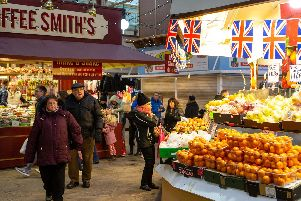 Halifax Borough market is the subject of renovations.