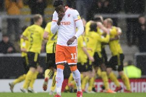 Disappointment for Blackpool as Burton Albion make it 3-0 at the Pirelli Stadium
