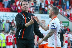 Seasiders' skipper Jay Spearing and his team-mates face a reunion with former Pool boss Gary Bowyer today