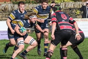 Old Crossleyans v Hullensians'' Ryan Hammond