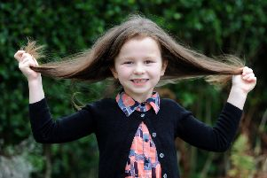 6-year-old Delilah Mawdsley is having 12 inches of hair chopped off to donate to the Little Princess Trust and raise money for Brian House