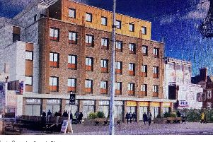 An artist's impression of the proposed hotel