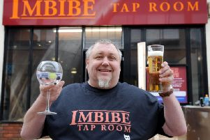 Antony Pye who is set to open Imbibe Tap Room in Blackpool