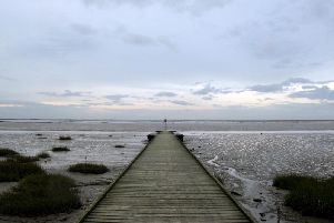 The foreshore at Lytham