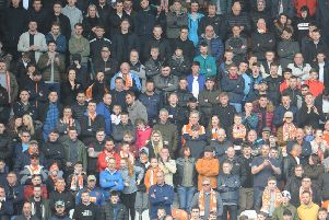 The Blackpool fans who have returned are still waiting patiently for a home win ... but it will come