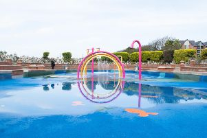 Here's the first look at St Annes seafront splash park