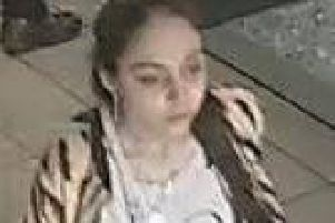 A 17-year-old girl from outside Lancashire has been identified by police as the suspect in a number of recent offences.