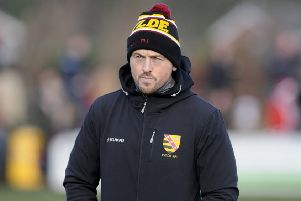 Fylde head coach Warren Spragg