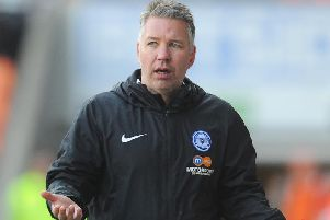 Peterborough United boss Darren Ferguson