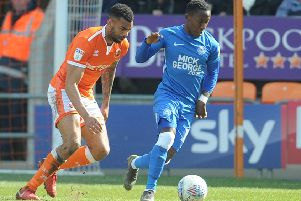 Blackpool lost to Peterborough United at home last Saturday