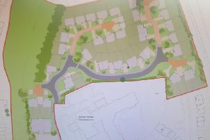 The layout of the proposed development