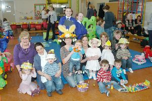 Colourful hats galore as this view from St Bega's shows from 2010.