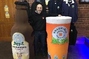 Sheffield resident Peter Knight is hoping to become the world's fastest beer glass at the 2019 London Marathon