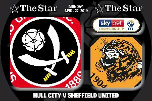 Sheffield United beat Hull City 3-0 at the KCOM Stadium
