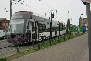 Tram services will be disrupted from Monday.