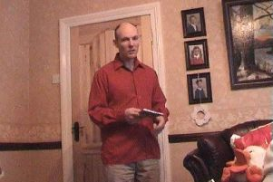 A photo of Gary Hughes, issued by his family as they appealed for help to track him down.