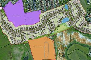 The plans proposed by Storey Homes. Credit: STOREY HOMES