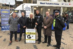 Wakefield Police and Wakefield BID are to supply the clear, colourless SmartWater solution to selected Night Marshals operating in city centre pubs and bars.