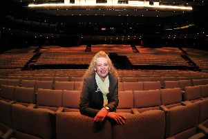 Confident: Harrogate Convention Centre's new director Paula Lorimer who helped turn G-Mex in Manchester around.