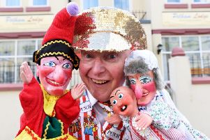 Martin Scott Price is setting up a Punch and Judy museum at Pelham Lodge this summer