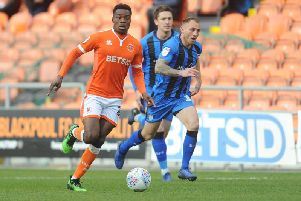 Marc Bola relished his first season at Blackpool