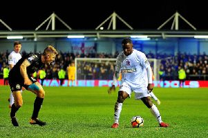 Zaine Francis-Angol isn't thinking of holidays with vital AFC Fylde business ahead