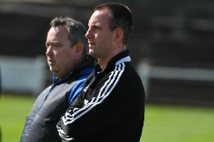 Kevin Bolam, left, has been appointed manager of Hebburn Town.