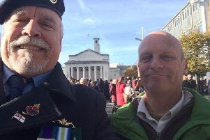 Liberty, the human rights campaign group of Falklands veteran Joe Ousalice, who says he was forced to leave the Royal Navy because of his sexuality, has announced plans to sue the Ministry of Defence to have his medals returned to him.