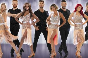 A cast of 10 make up the Strictly Come Dancing the Professionals tour which comes to the Winter Gardens  Wednesday May 15