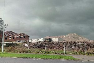 How the abandoned former abattoir site used to look