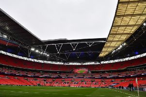 AFC Fylde play Salford City at Wemley in the National League Play-off Final for a chance to enter the English Football League for the first time in the club's history. Photo: Getty Images