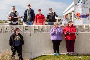 The Harmony and Health singers in Fleetwood